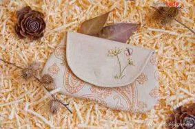 آموزش دوخت کیف زنانه کوچک مناسب کیف پول و کیف آرایش