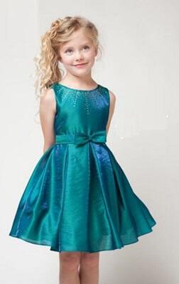 دوخت لباس بچگانه مدل هاله