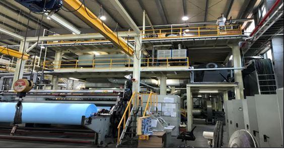 کارخانه تولید پارچه اسپان باند