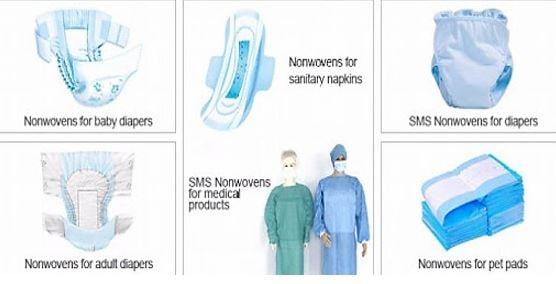 مصارف پزشکی پارچه اسپان باند