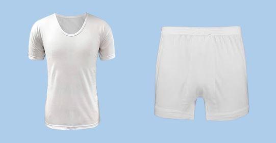 الگوی لباس زیر مردانه