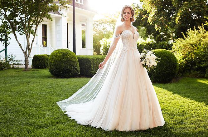 لباس عروس کلوش